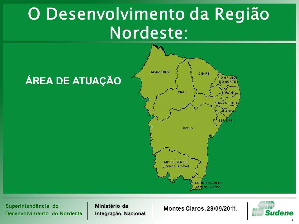 O Desenvolvimento da Região Nordeste: