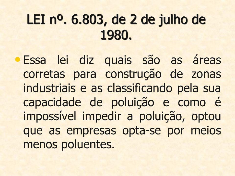 LEI nº. 6.803, de 2 de julho de 1980.