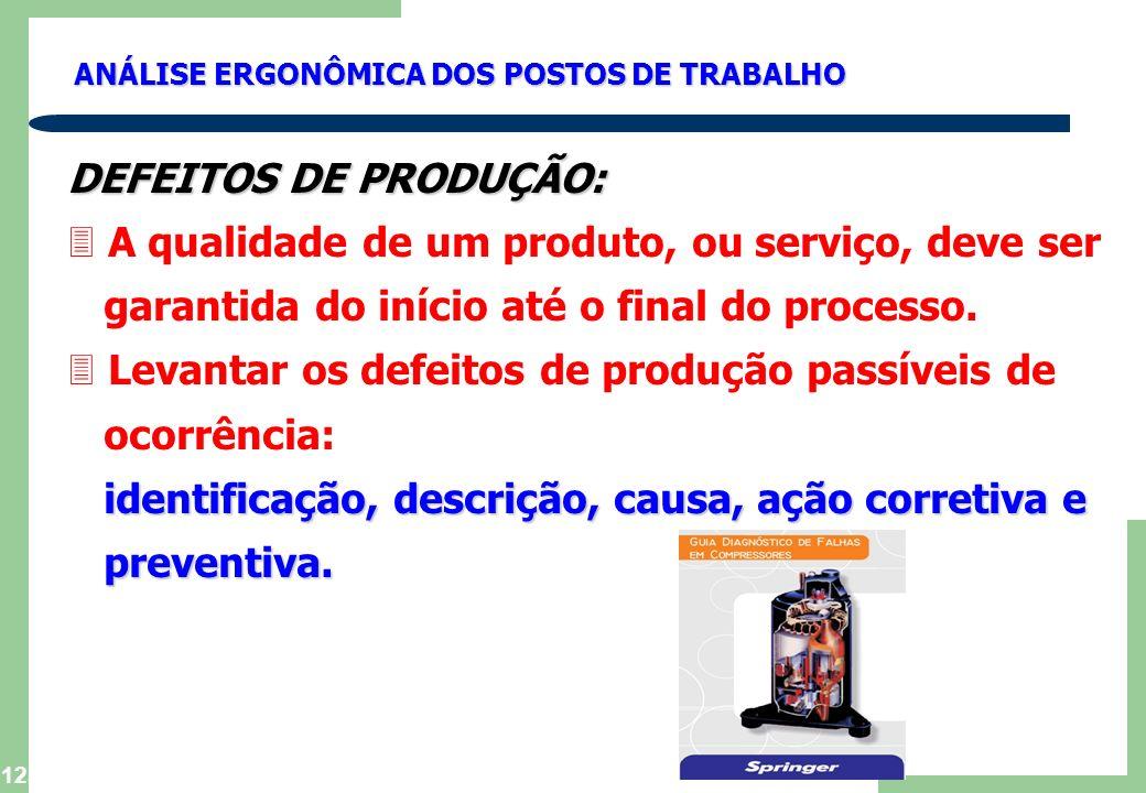 A qualidade de um produto, ou serviço, deve ser