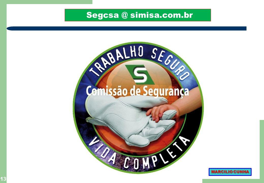 Segcsa @ simisa.com.br MARCILIO CUNHA