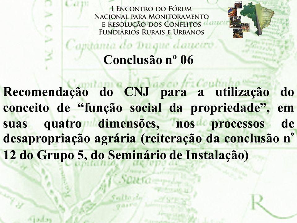 Conclusão nº 06