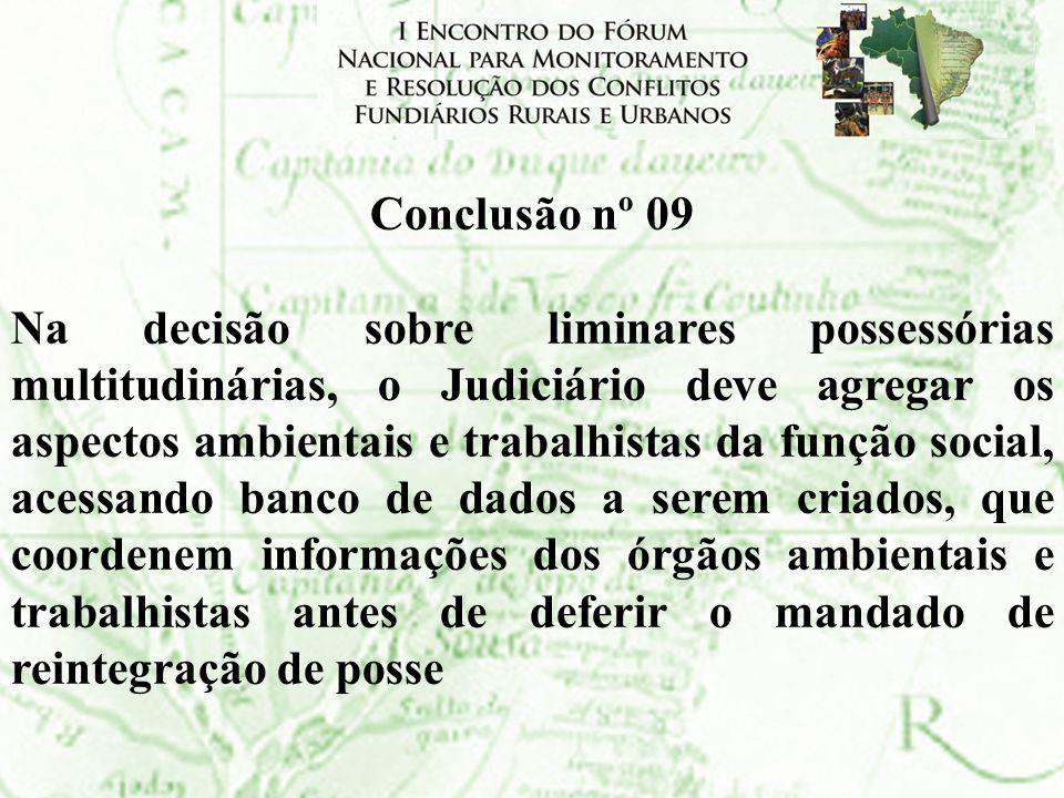 Conclusão nº 09