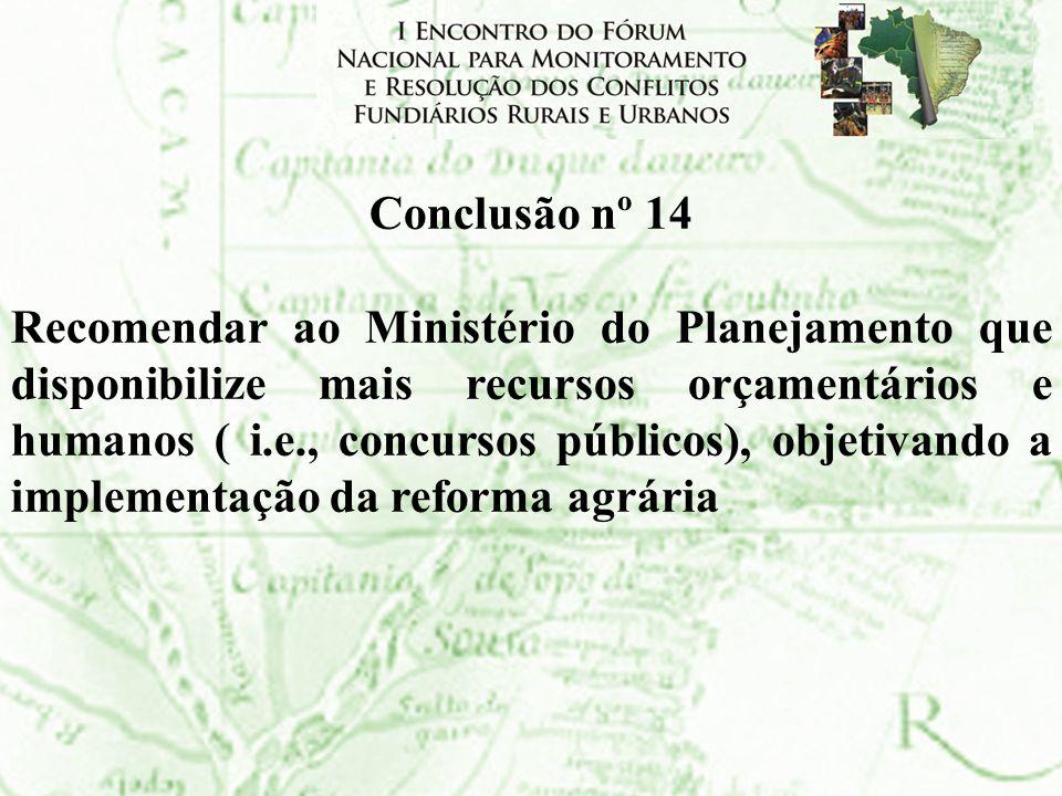 Conclusão nº 14