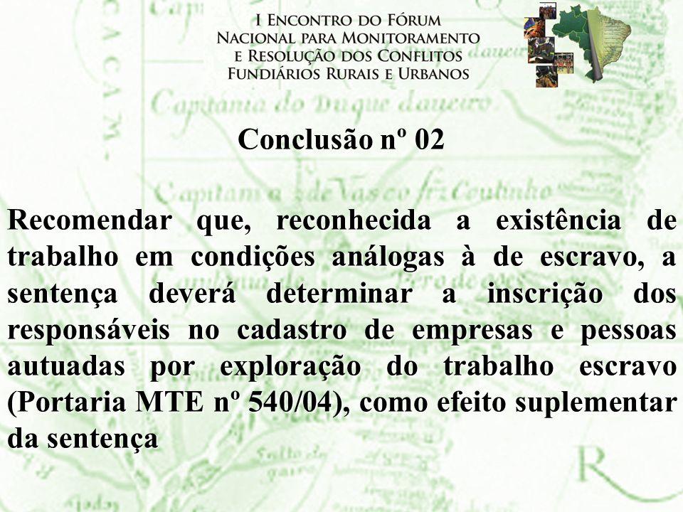 Conclusão nº 02