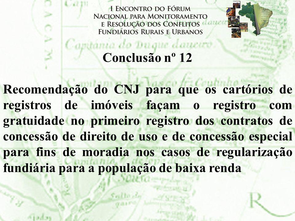 Conclusão nº 12