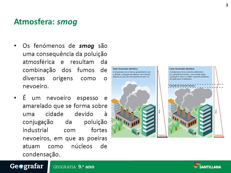 Atmosfera: smog