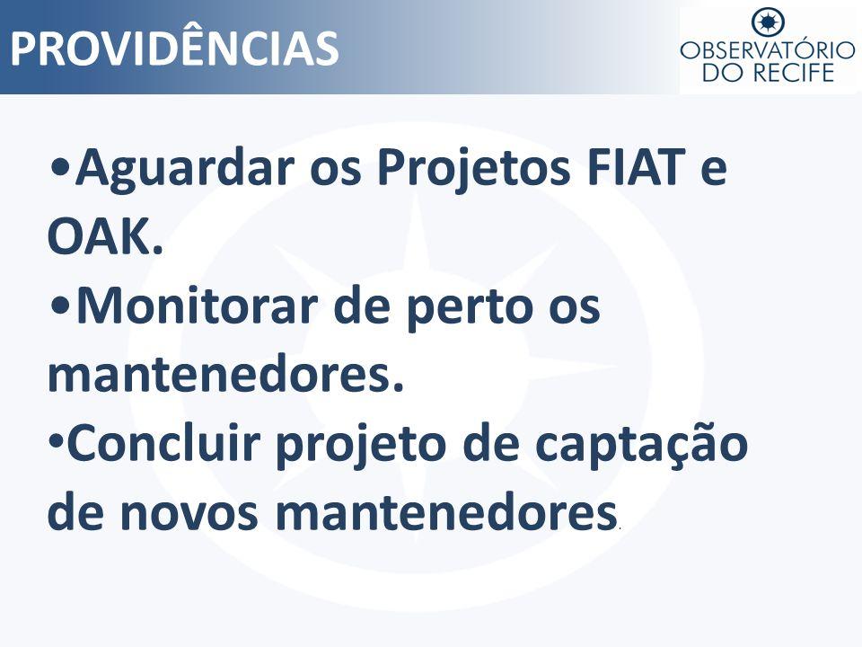 Aguardar os Projetos FIAT e OAK. Monitorar de perto os mantenedores.