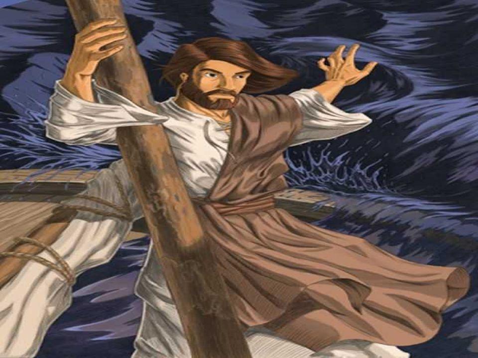 Deus fala com Jó no meio da tempestade, revelando a eficácia. de sua palavra criadora que organiza e conduz.