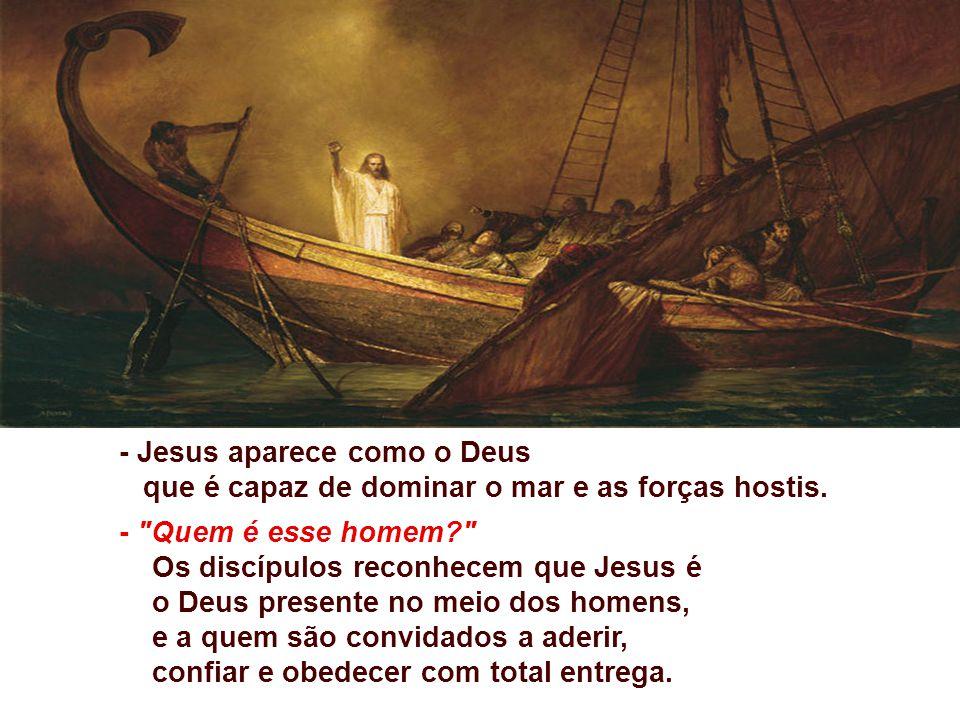 - Jesus aparece como o Deus