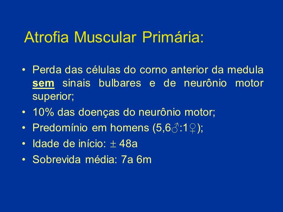 Atrofia Muscular Primária: