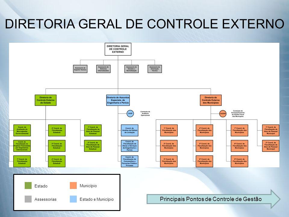 DIRETORIA GERAL DE CONTROLE EXTERNO