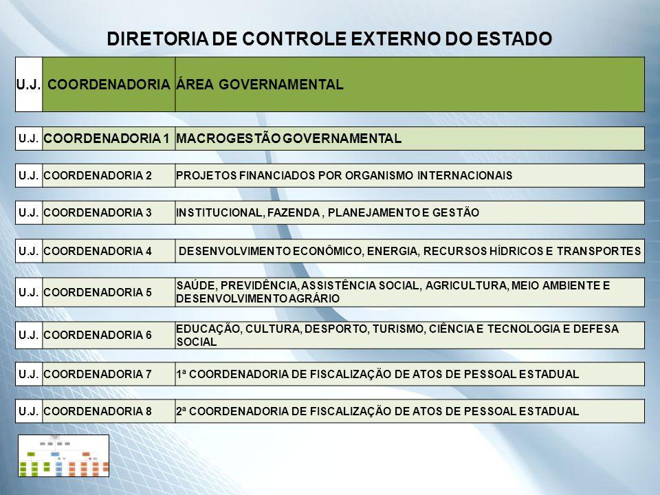 DIRETORIA DE CONTROLE EXTERNO DO ESTADO