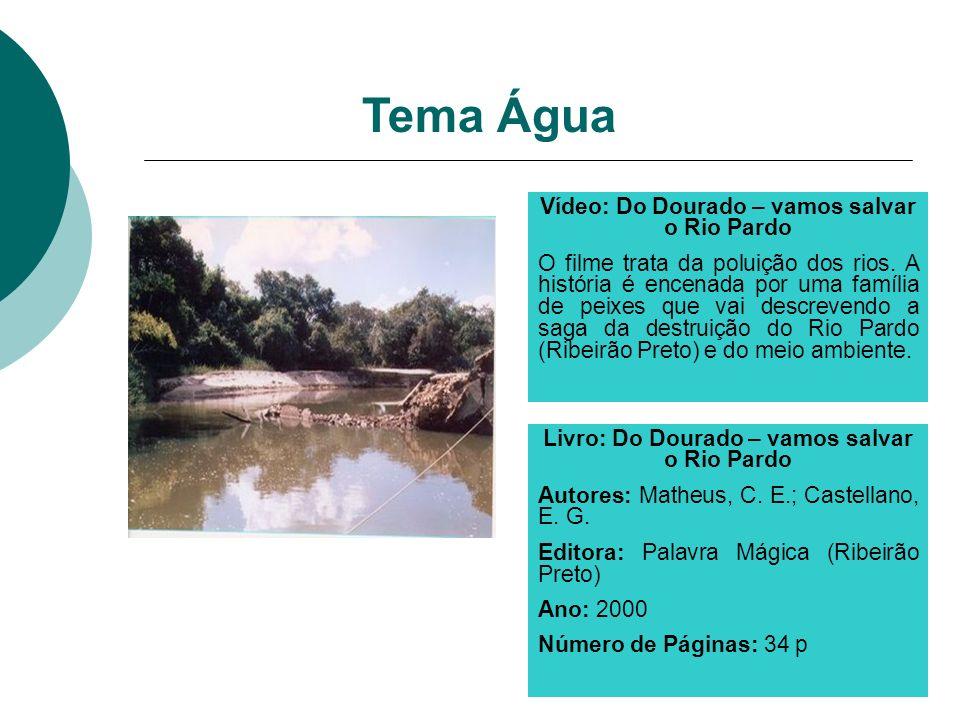 Livro: Do Dourado – vamos salvar o Rio Pardo