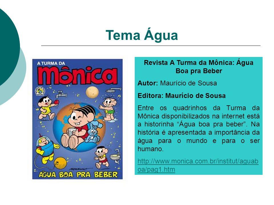 Revista A Turma da Mônica: Água Boa pra Beber