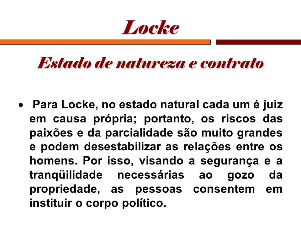 Estado de natureza e contrato