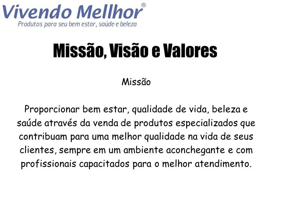 Missão, Visão e Valores Missão