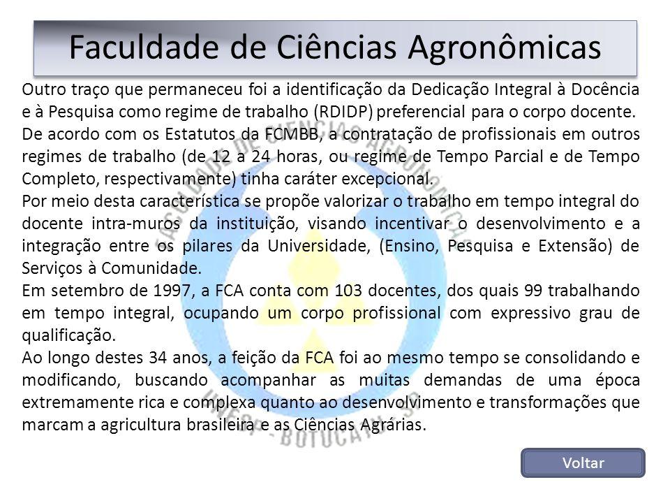 Faculdade de Ciências Agronômicas