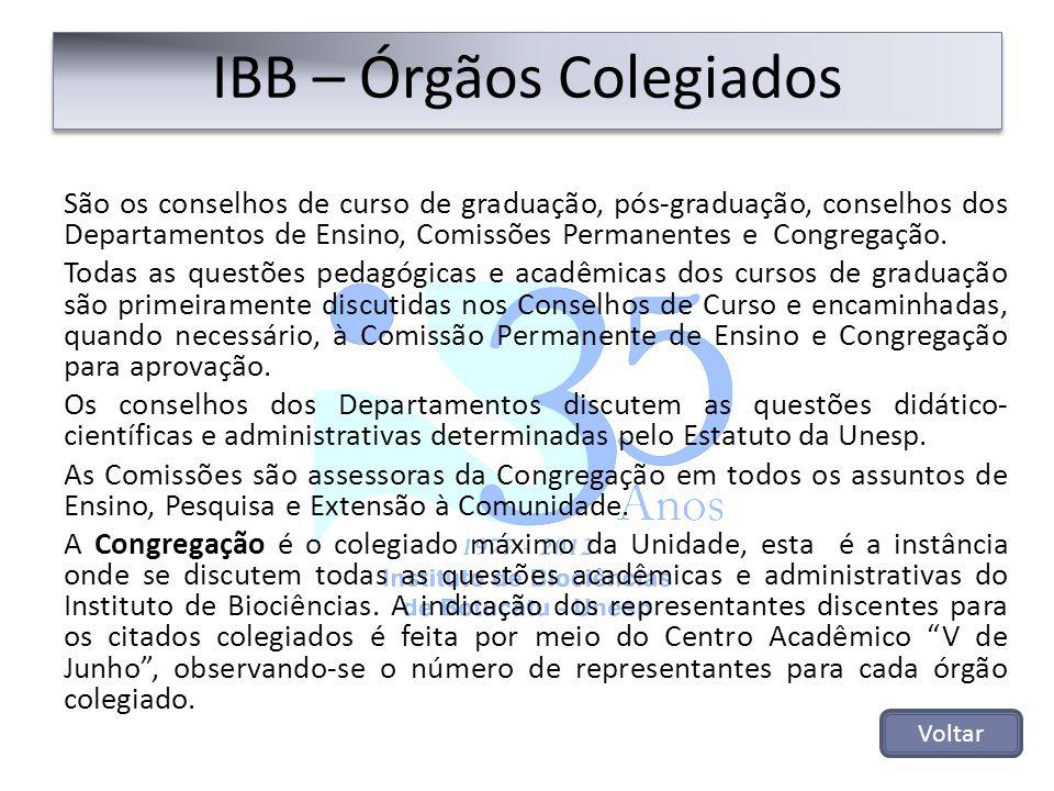 IBB – Órgãos Colegiados