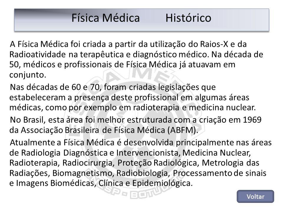 Física Médica Histórico