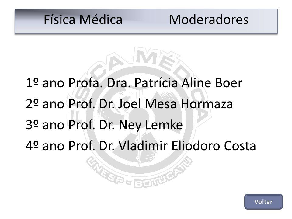Física Médica Moderadores