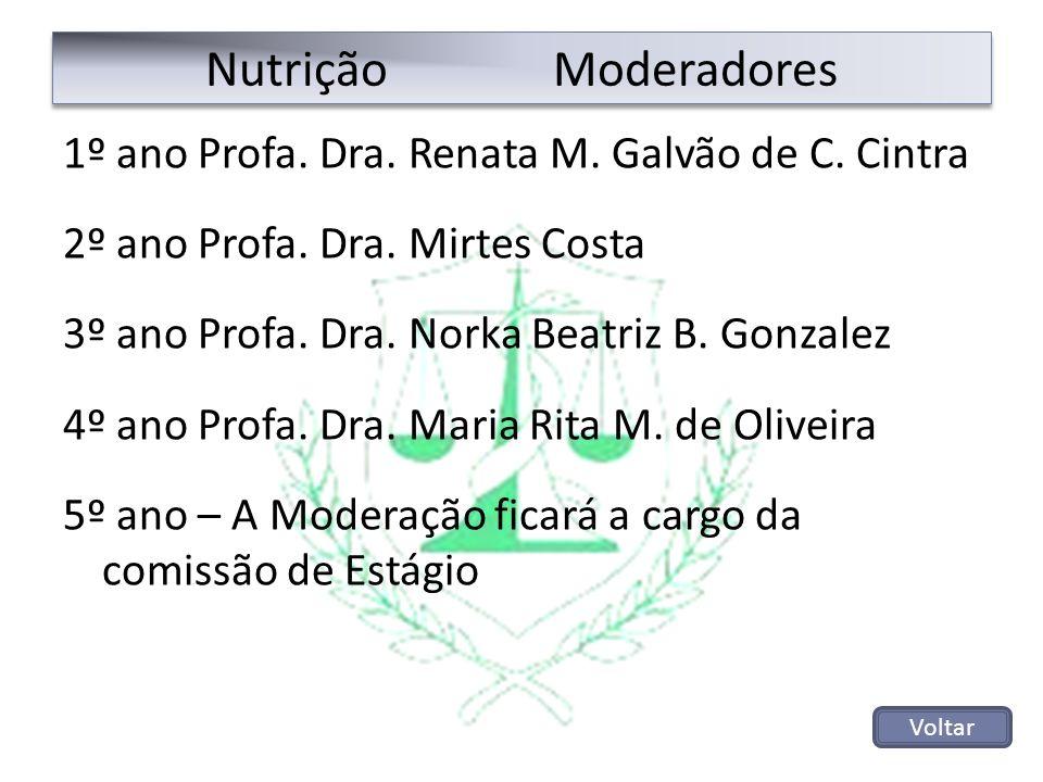Nutrição Moderadores