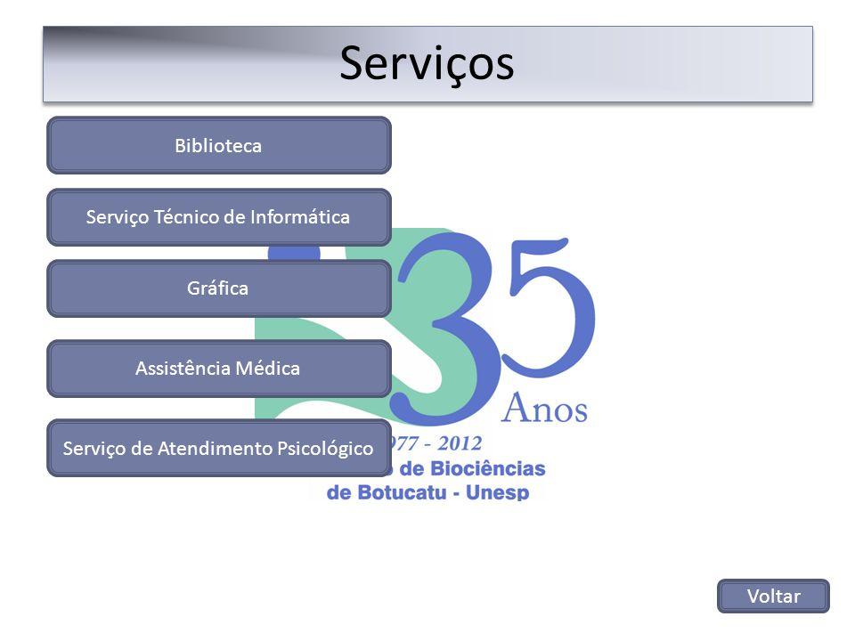 Serviços Biblioteca Serviço Técnico de Informática Gráfica