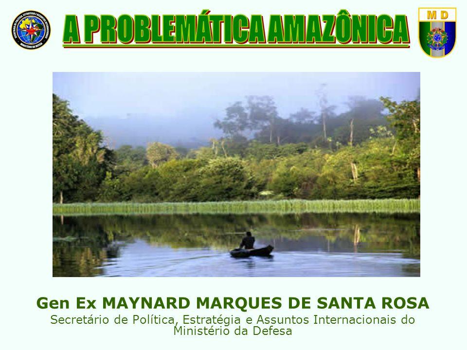 A PROBLEMÁTICA AMAZÔNICA Gen Ex MAYNARD MARQUES DE SANTA ROSA
