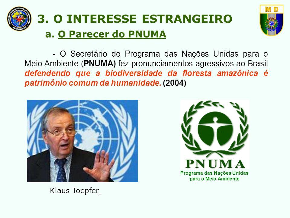 Programa das Nações Unidas para o Meio Ambiente