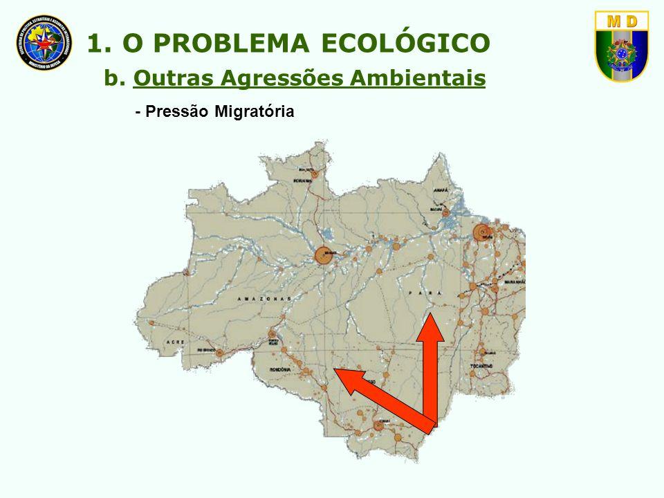 1. O PROBLEMA ECOLÓGICO b. Outras Agressões Ambientais
