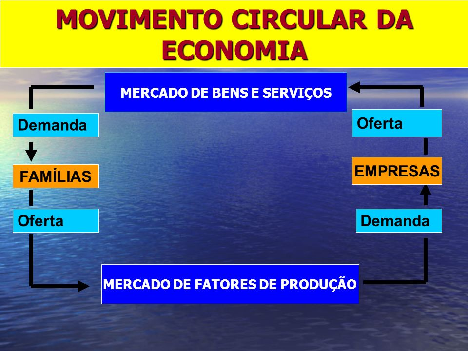 MOVIMENTO CIRCULAR DA ECONOMIA