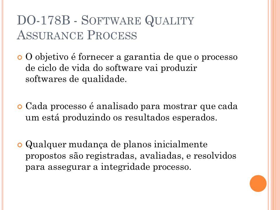DO-178B - Software Quality Assurance Process