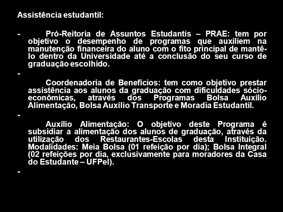Assistência estudantil: