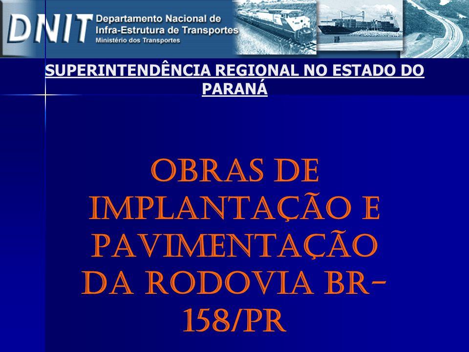 SUPERINTENDÊNCIA REGIONAL NO ESTADO DO PARANÁ