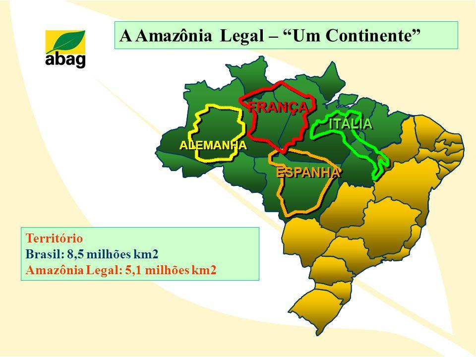 A Amazônia Legal – Um Continente