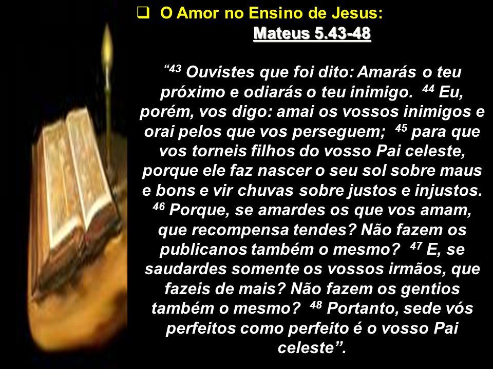 O Amor no Ensino de Jesus: