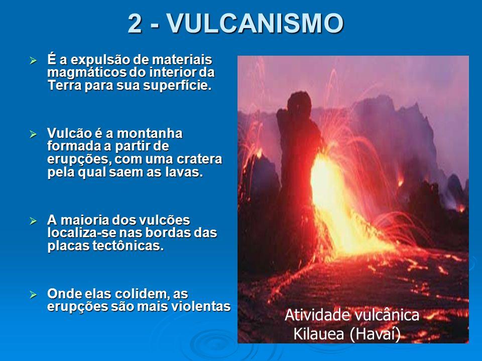 Atividade vulcânica Kilauea (Havaí)