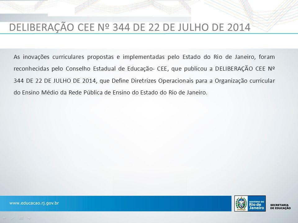 DELIBERAÇÃO CEE Nº 344 DE 22 DE JULHO DE 2014