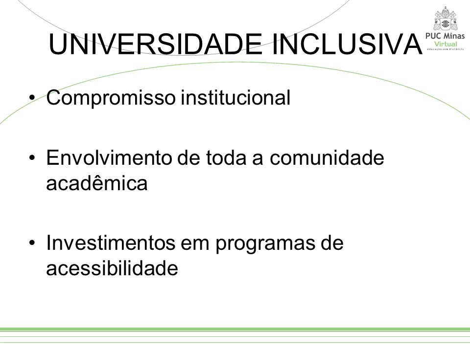 UNIVERSIDADE INCLUSIVA