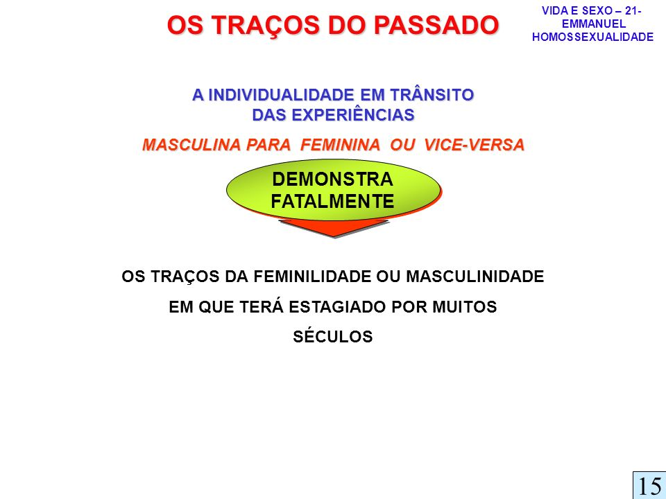 OS TRAÇOS DO PASSADO 15 DEMONSTRA FATALMENTE