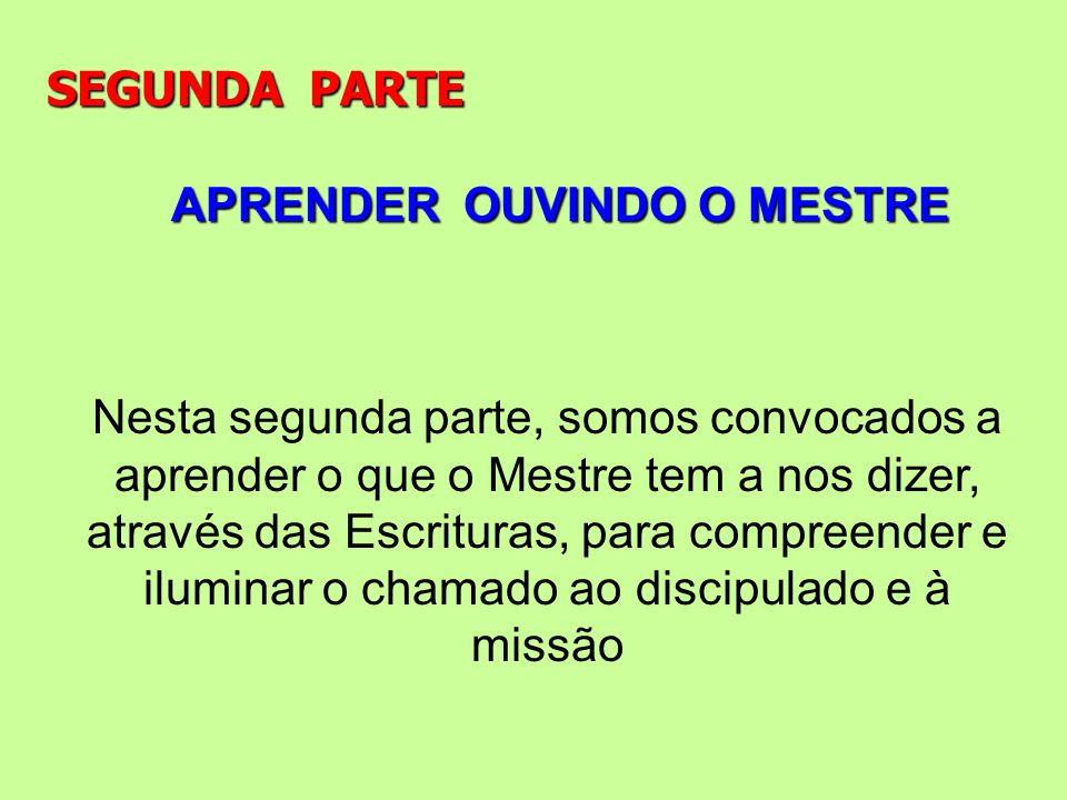 SEGUNDA PARTEAPRENDER OUVINDO O MESTRE.