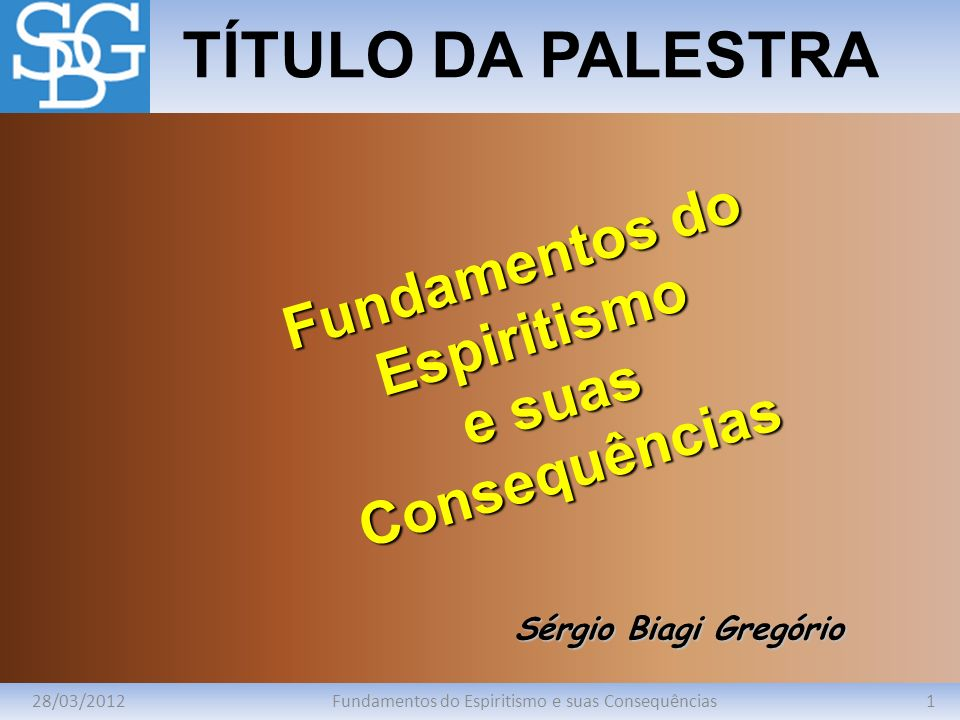 Fundamentos do Espiritismo