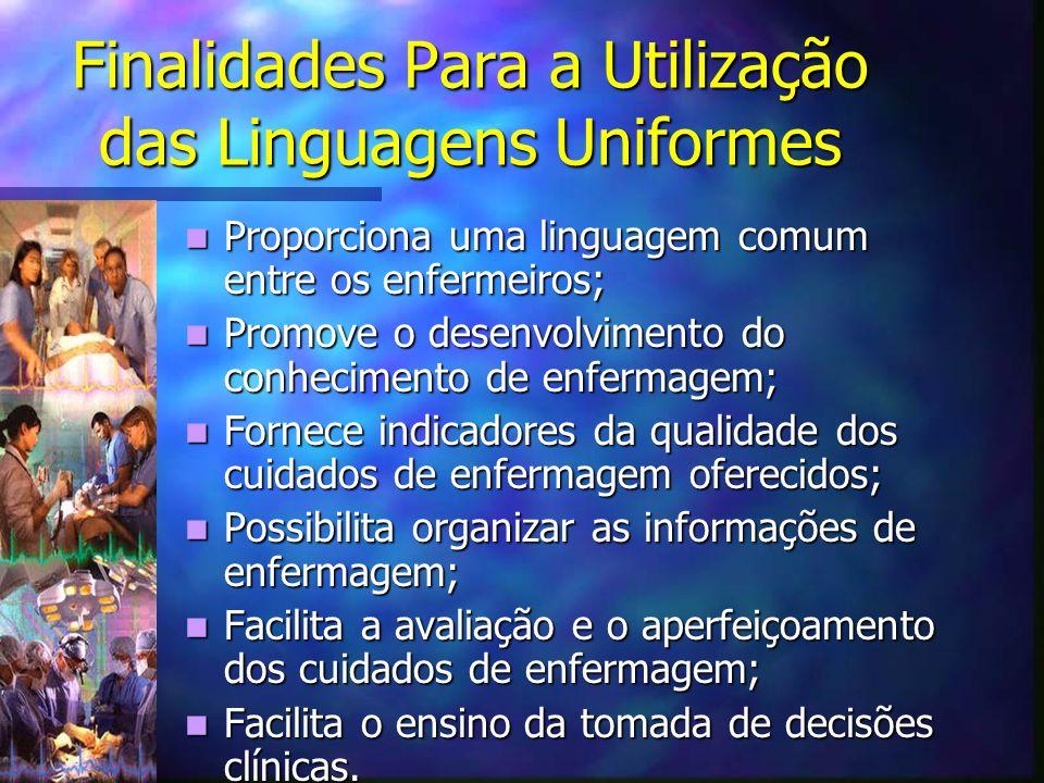 Finalidades Para a Utilização das Linguagens Uniformes