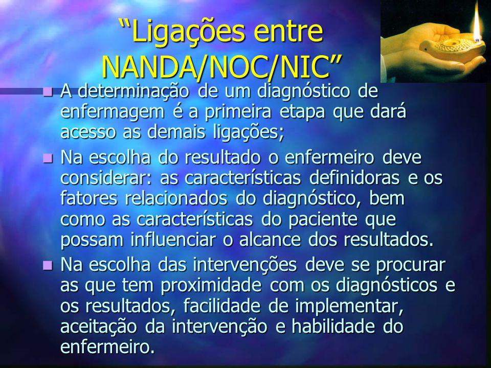 Ligações entre NANDA/NOC/NIC