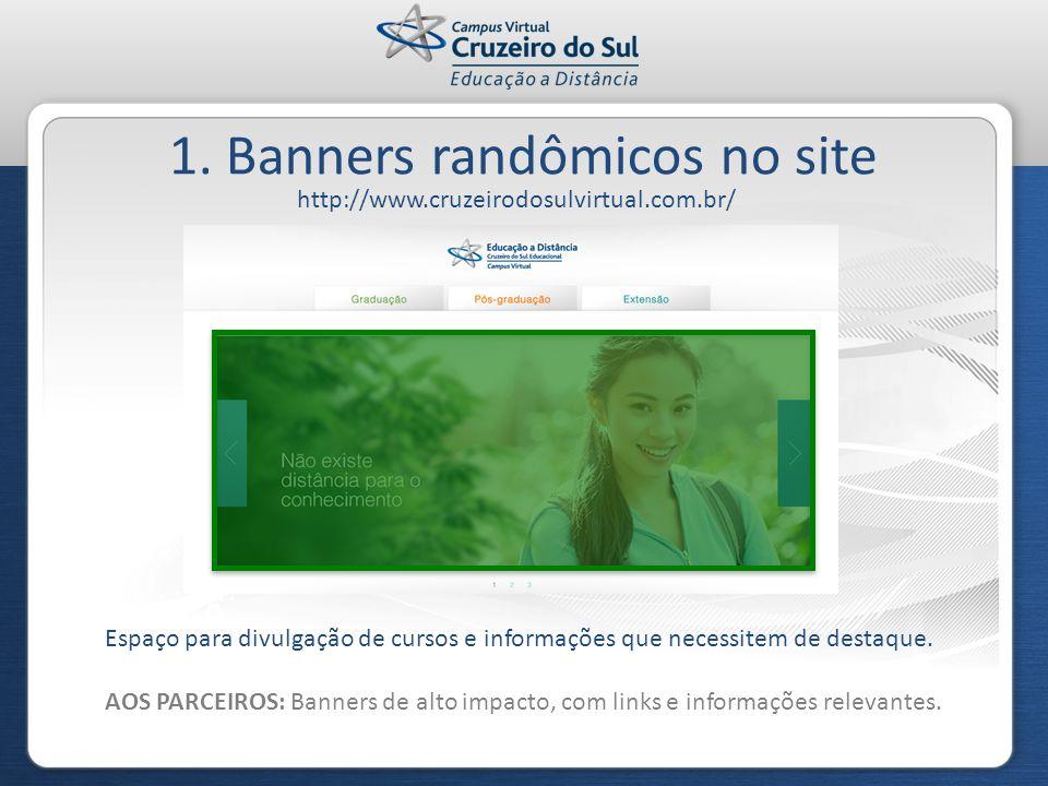 1. Banners randômicos no site