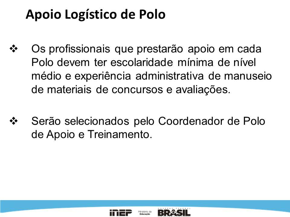 Apoio Logístico de Polo
