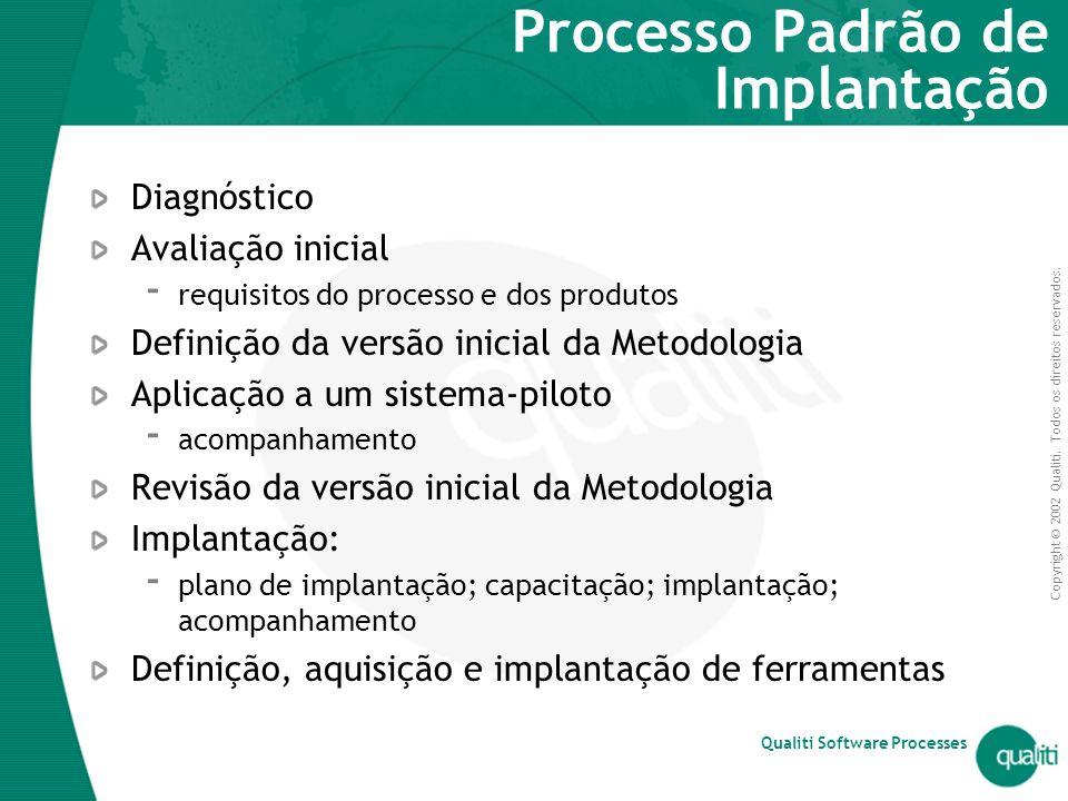 Processo Padrão de Implantação