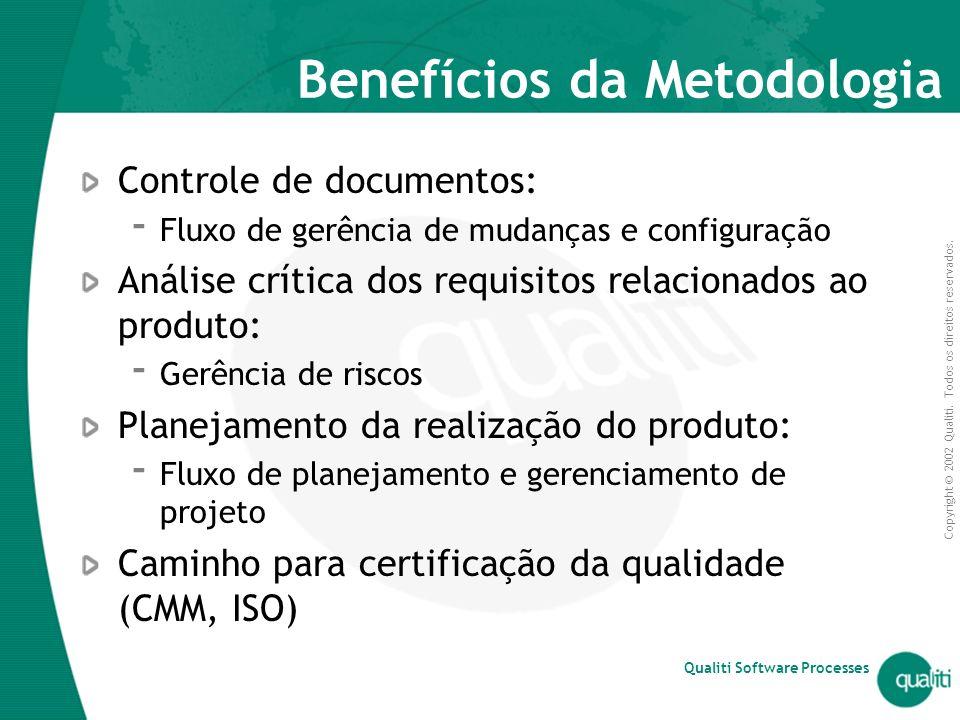 Benefícios da Metodologia