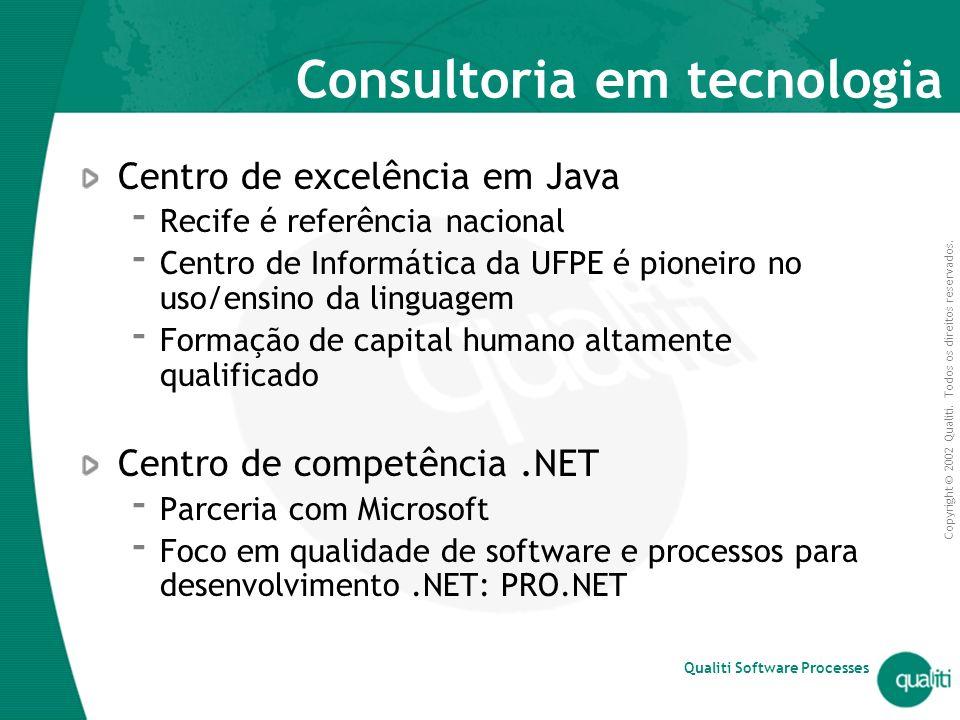 Consultoria em tecnologia