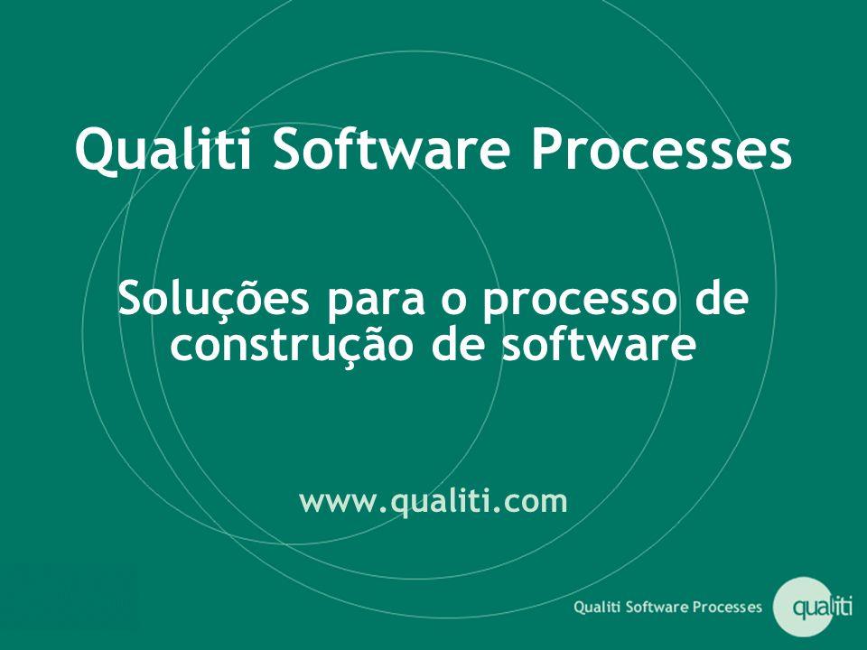 Qualiti Software Processes Soluções para o processo de construção de software