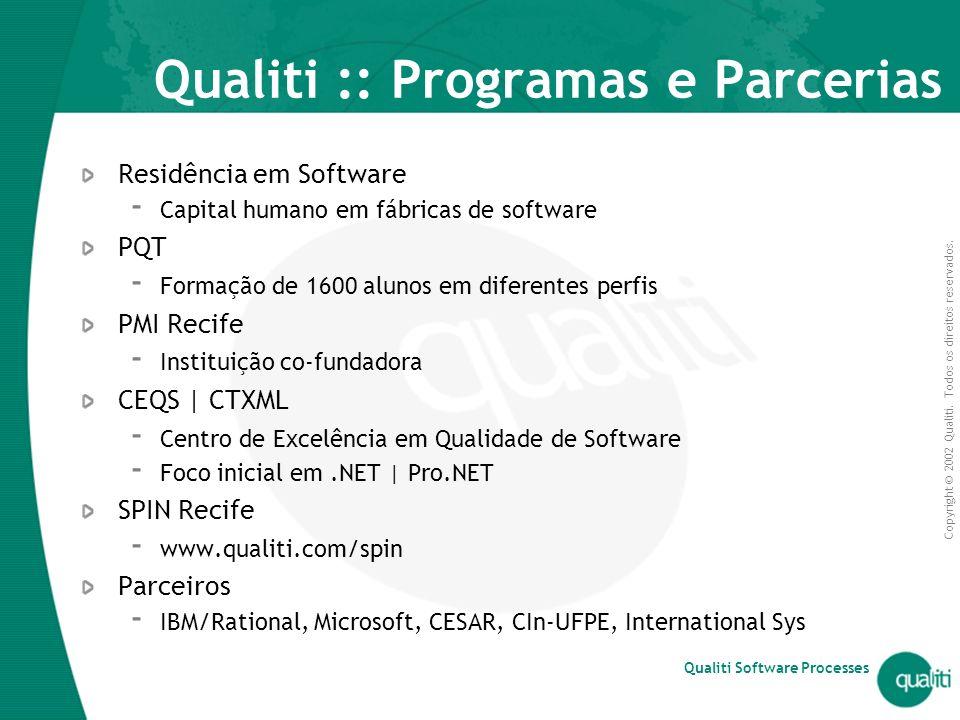 Qualiti :: Programas e Parcerias